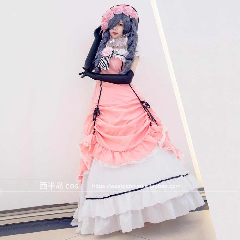 fce8d04a7 Detail Feedback Questions about Black Butler Ciel Phantomhive Cosplay  Costume Manga Kuroshitsuji Dress Outfit Set Cosplay on Aliexpress.com