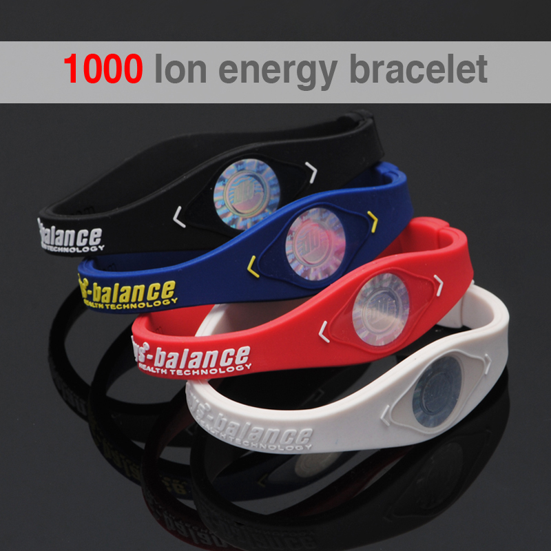 1000 ion Bio Elements Energy Bracelet Silicone Bracelet ...