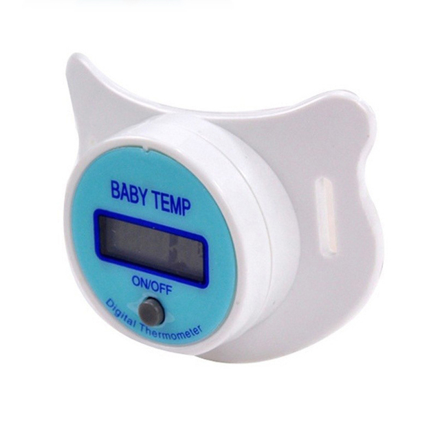 Baby Nipple Thermometer Medical Silicone Pacifier LCD Digital Children's Thermometer Health Safety Care Thermometer For Children 1