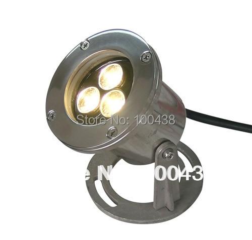 IP68 3W LED podvodní světlo, venkovní LED reflektor, 12V DC, - LED Osvětlení