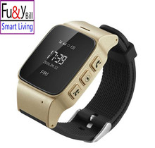 D99 Elderly Smart Watch For Xiaomi iPhone Anti lost Gps Lbs Wifi Tracking With WIFI Mini