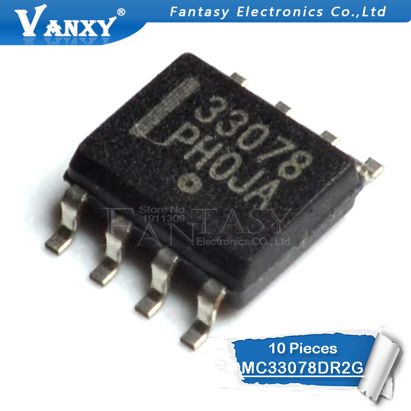 10PCS MC33078DR2G SOP8 MC33078DR SOP MC33078 SMD New And Original IC