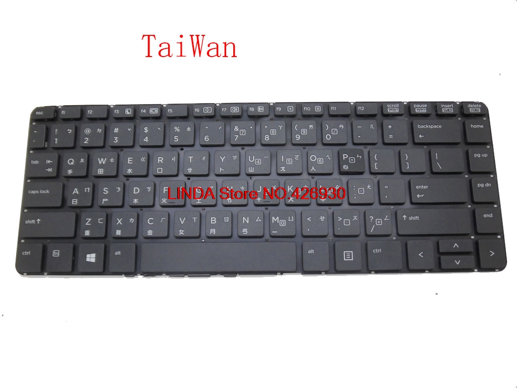UK TR Keyboard For <font><b>HP</b></font> For probook 430 G1 711468-B71 727765-A81 711468-141 727765-B71 727765-141 727765-AB1 727757-001 image