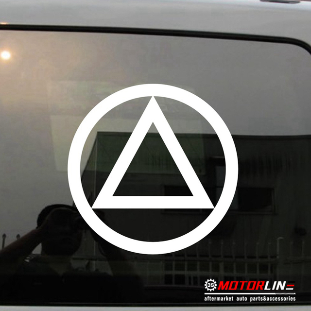 Alcoholics Anonymous Aa Symbol Decal Sticker Car Vinyl Pick Color