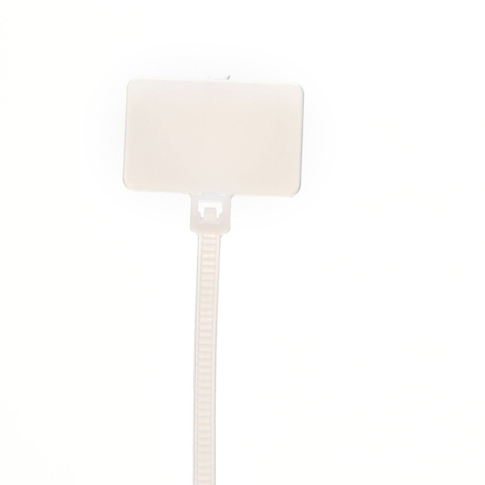 Jetting 100 Stück Kabelbinder Draht Kabelnetzkabel Etiketten Mark ...