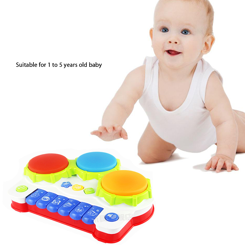 baby music toys multifunctional hand drum toy baby play music toy child piano kids toy gifts 0-1 year old