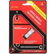 Starke Einzigen Schalter Neodym Schweißen Magnet Holder Auf/Aus-schalter Magnetische Clamp Kleine Größe