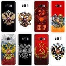 Escudo de Armas de la bandera de Armenia Rusia funda de silicona suave para teléfono Samsung Galaxy NOTE 8 9 S6EDGE S6 S7 S8 S9 S10 S10PLUS S10E