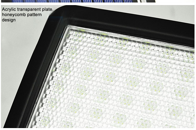 Waterproof Outdoor Solar Wall Light with 56 LED with PIR Motion Sensor for Garage and Yard 11