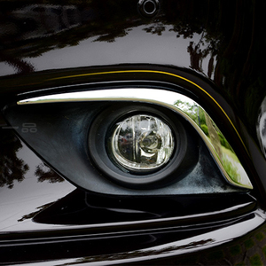 Image 5 - Fit For Atenza M6 GJ CHROME 2013 2014 2015 2016 Front Fog Light Lamp Cover Eyebrow Eyelid Garnish Streamers Outer Foglight trim