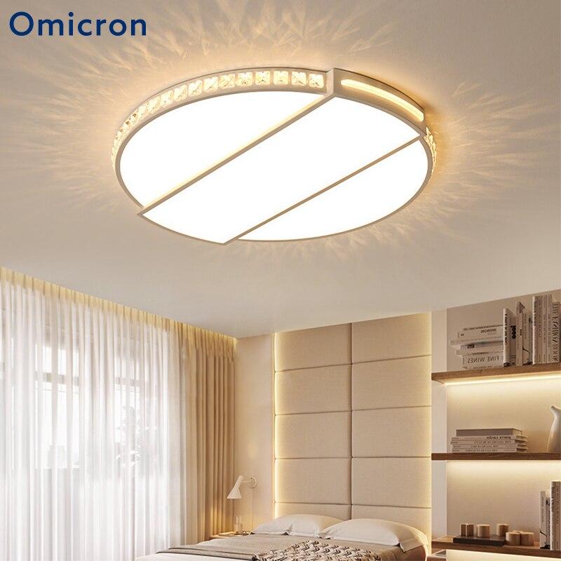 LED Deckenlampe Fernbedienung Küchen Bad Schlafzimmer RGB Kristall Deckenleuchte
