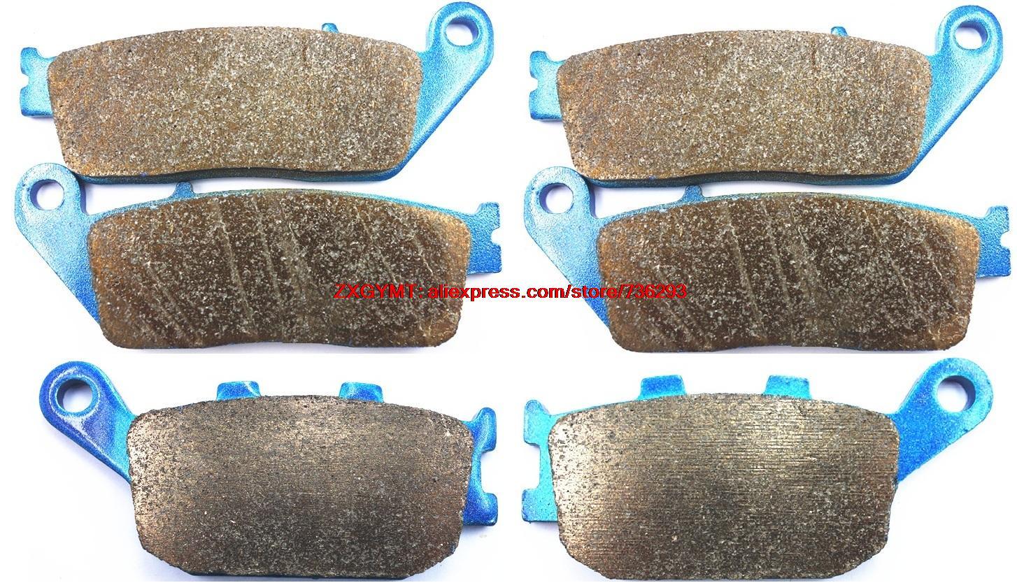 ФОТО Sintered Motorcycle Brake Shoe Pads Set fit KAWASAKI Z750 Z 750 , ABS 2007 & up