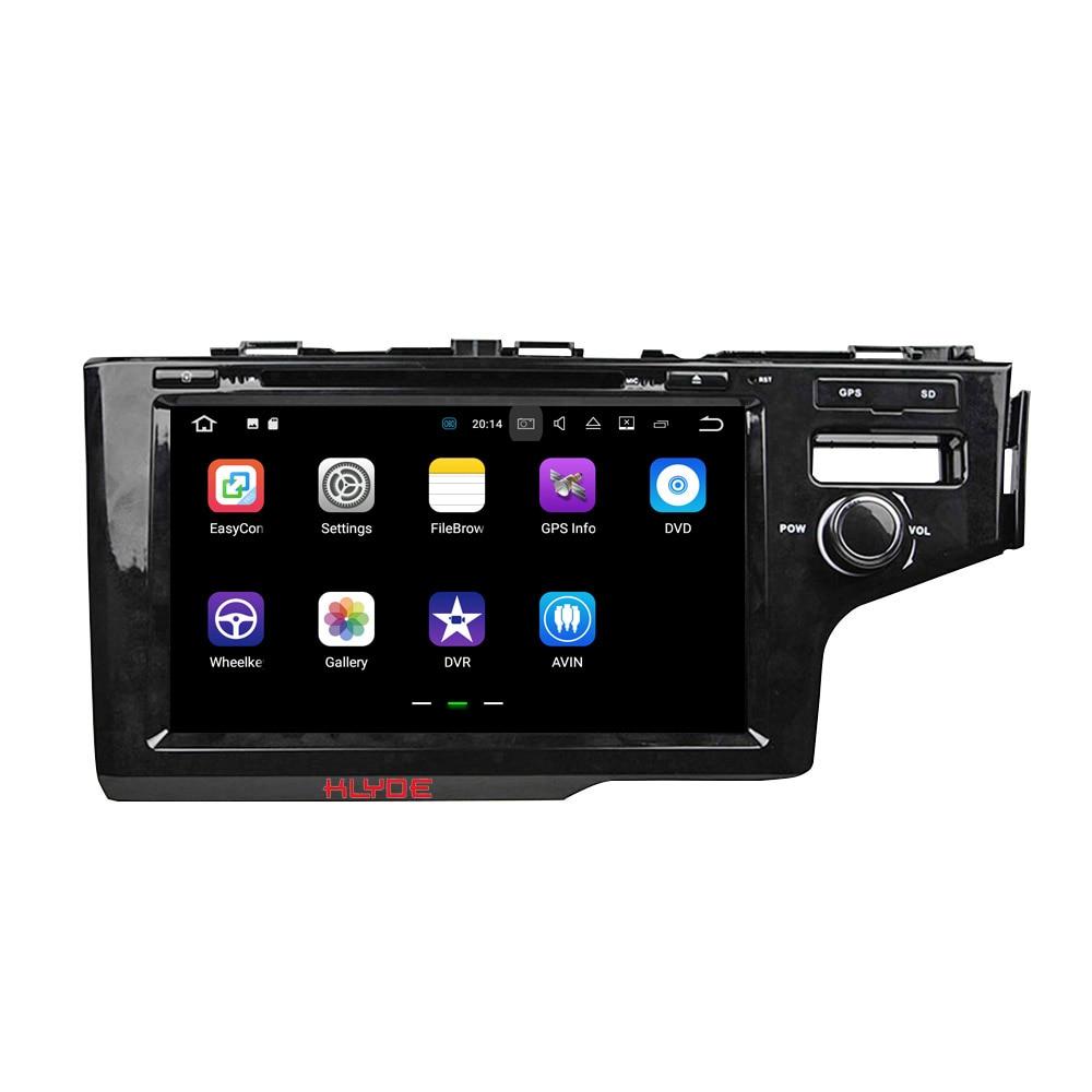 KLYDE 2 Din 9 Android 7 1 Car Multimedia Player For HONDA 2014 FIT RHD Car
