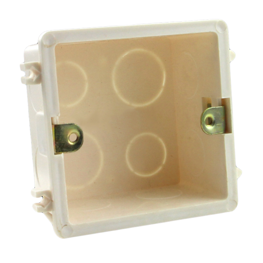 86 Cassette Universal White Wall Mounting Box For Wall