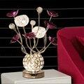 Alta calidad LED lámpara de mesa de cristal lámpara de mesa de Moda la decoración del hogar regalos de boda regalo de boda de la lámpara de cristal led