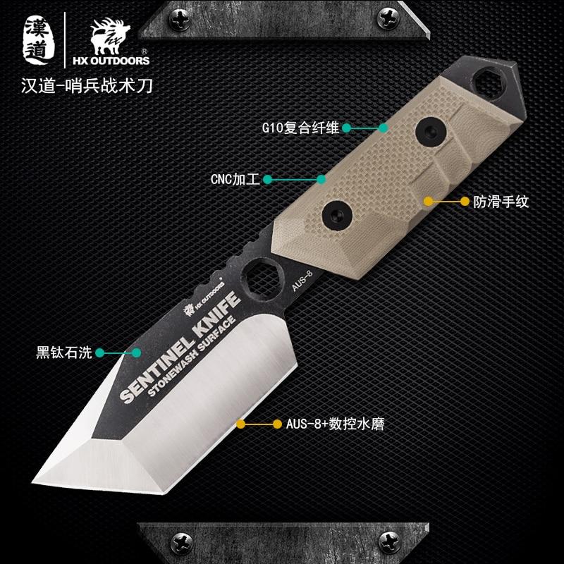 """""""HX OUTDOORS"""" dovanų peilis nešiojamas EDC gynybos išlikimas - Rankiniai įrankiai - Nuotrauka 2"""
