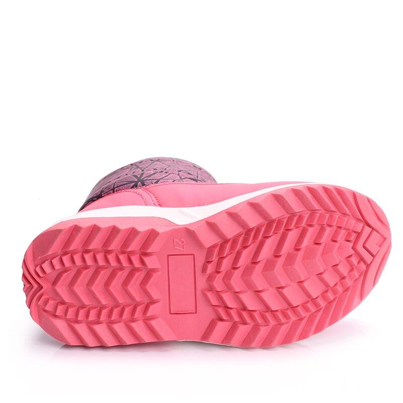 SKHEK Invierno Niños Tobillo Botas de Moda de Peluche para Niños - Zapatos de niños - foto 6