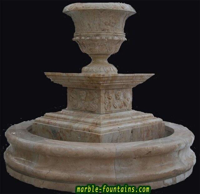 pedestal fuentes de encargo del diseador de mrmol fuentes de mano de piedra natural tallada pulido