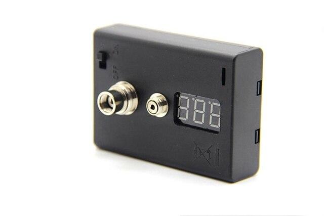 Resistance Tester OHM meter for E Cigarette 510 Thread RDA RBA DIY vaporizer CE atomizer voltage tester for EGO battery