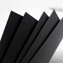 Высококачественная Черная картонная бумага a3 / a4 из целлюлозы