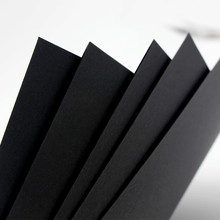 A4 A3 black DIY cardboard paper handmade 100sheets