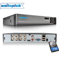 4Ch 8Ch 1080N CCTV AHD DVR NVR XVR Video Recorder 720P 1080P 5 IN 1 CVI TVI CCTV DVR Hybrid NVR HVR Security DVR P2P XMEye Onvif