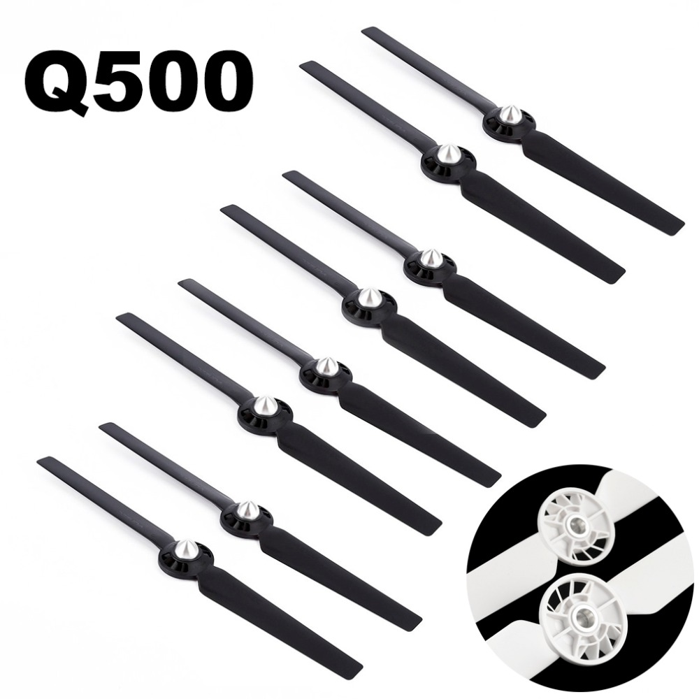 8pcs Propeller for Yuneec Q500 Typhoon 4K Camera Drone Spare Parts Quick Release Self Locking Props Replacement Blade 13inch твое жилет
