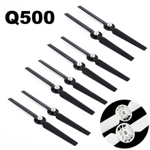 купить 8pcs Replacement Propeller for Yuneec Q500 Typhoon 4K Camera Drone Spare Parts Self Locking Props Blade 13inch Accessory дешево