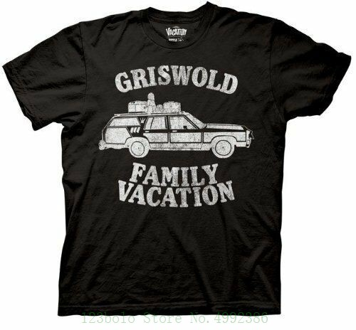 Adult Black Comedy Movie Christmas Vacation Griswold Family Vacation T Shirt Tee Short Sleeve Cheap Sale Gift T Shirt image