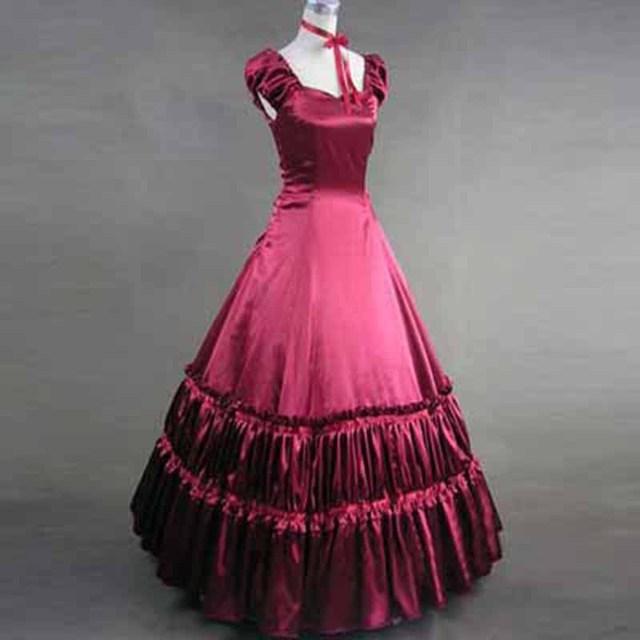 2017 klassischen Viktorianischen Kleider Frauen Vintage Gothic ...