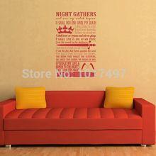 Night's Watch Oath Vinyl Wall Art Decal Sticker