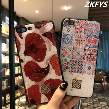 Soft TPU Silicon Back Cover For iPhone  7 8 6 6S Plus Luxury Glitter Phone Case X XR XS Max Bling Protective