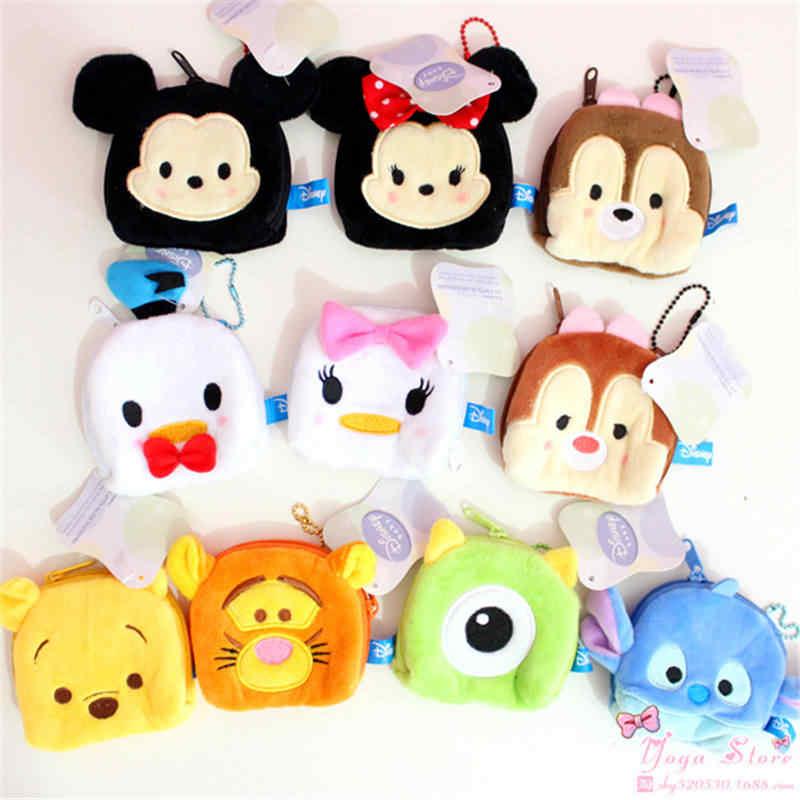 Disney Trẻ Em của Đồ Chơi Sang Trọng Mickey Donald Vịt Đôi Mắt To Khâu Sóc Anh Em Túi Xách Sang Trọng Túi 9*9