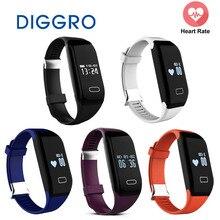 5 шт. оптовая продажа diggro H3 SmartBand браслет монитор сердечного ритма фитнес-трекер часы браслет для iOS и Android-смартфон