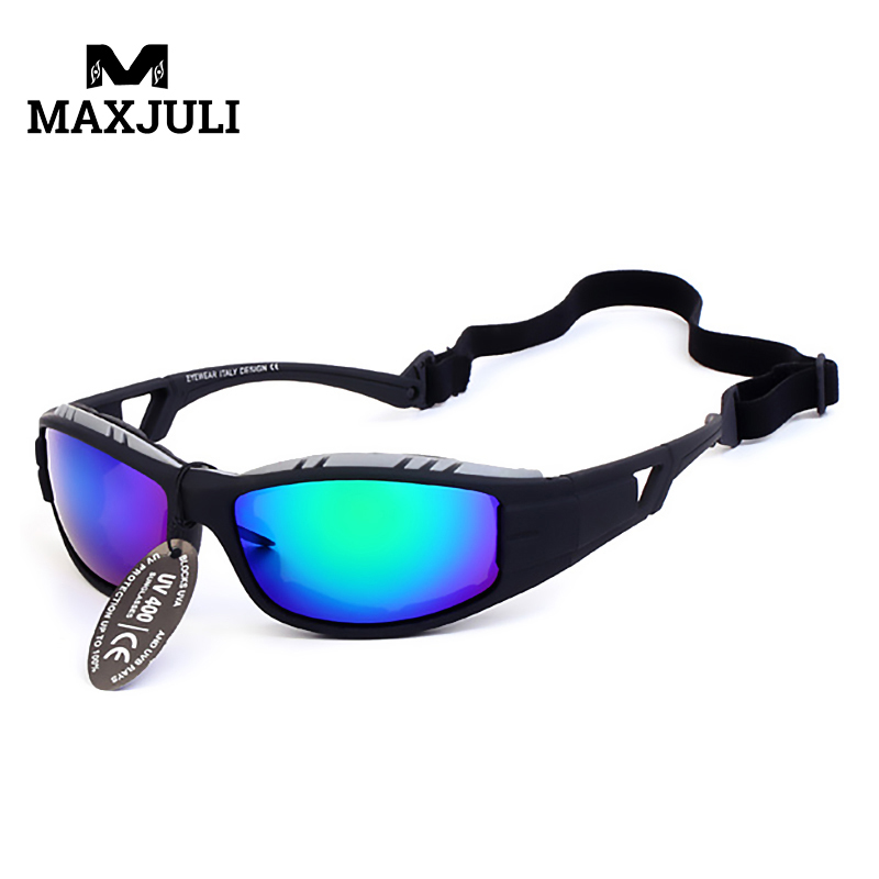 MAXJULI Hot Sale Fishing Eyewear Sports Sunglasses Men Outdoor Cycling Glasses Motorcycle Sunglasses Occhiali Ciclismo1226A allbitefo fashion sexy high heels stretch fabric over the knee boots brand pointed toe high heel shoes women boots size 33 43
