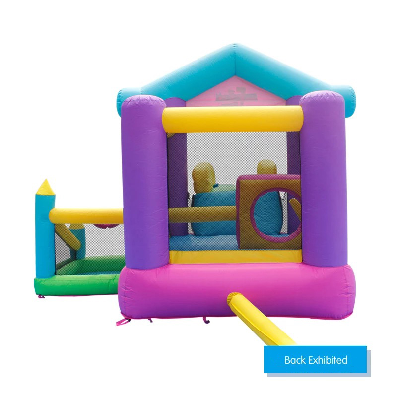 HTB14YjMPpXXXXcGXXXXq6xXFXXXE - Mr. Fun Inflatable Bouncy House Big Slide For Kids With Ball Pool, Target, & Obstacle Course With Blower