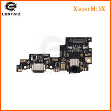 For Xiaomi Mi A1 Mi 5X USB board Charging Charger Port Dock Connector PCB Board Ribbon Flex Cable with Headphone Jack Audio