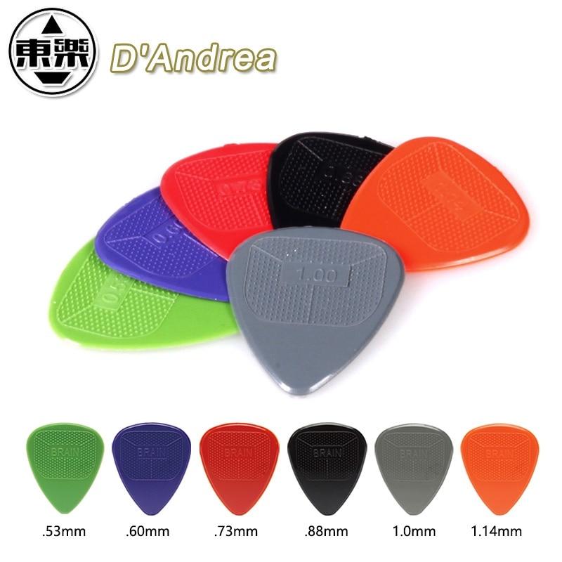 D'andrea Snarling Dog Brain Pick Plectrum Mediator Guitar Nylon Pick Plectrum Mediator, Made In USA