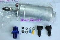 044 STYLE 300 LPH ELECTRIC HIGH FLOW EXTERNAL FUEL PUMP W/  8 BLACK FITTINGS|pump pump|pump fuel|pump electric -
