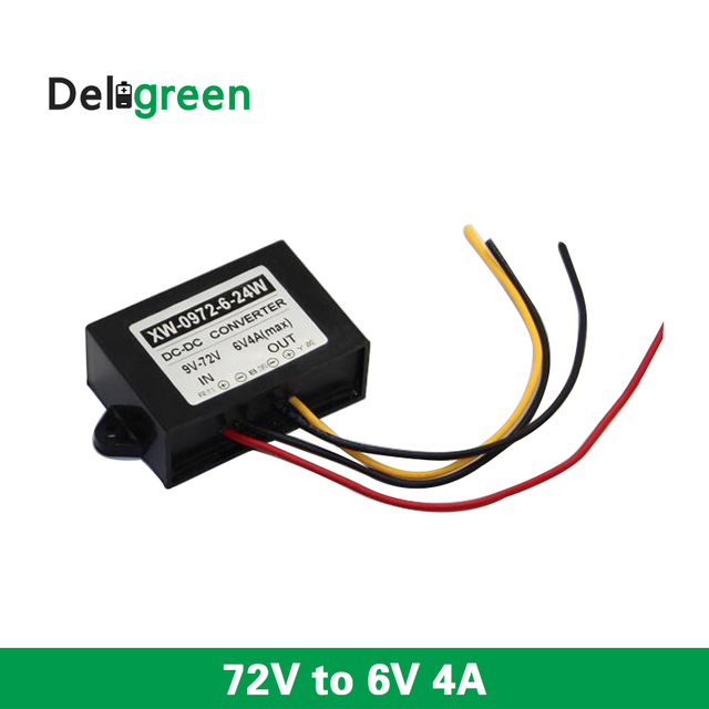 dc 72v to 6vdc 3a 5a step down converter buck power supply voltage