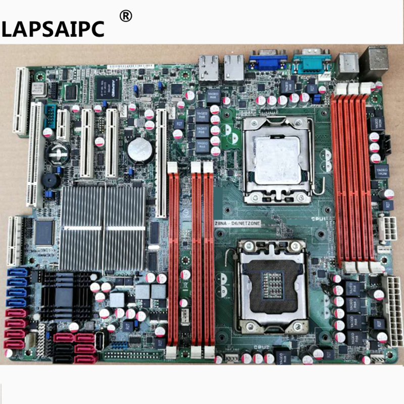 Lapsaipc Z8NA-D6 LGA 1366 DDR3 Dual 1366 original Server Board Desktop mainboard well tested d05021b maine board fittings of a machine tested well original