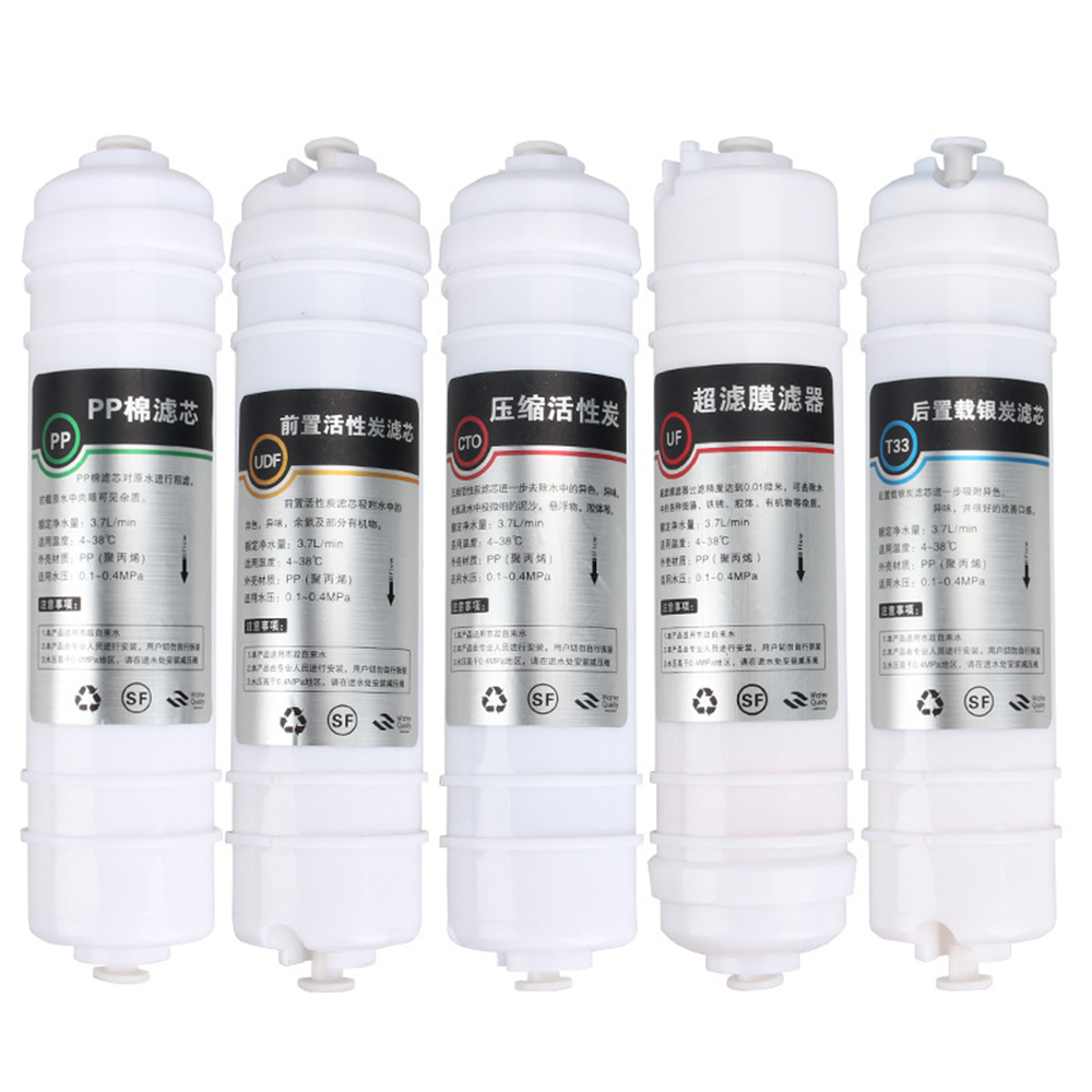 Water Purifier 5 Stage 10 Filter Cartridge PP UDF CTO UF T33 box type ultrafiltration System Water Filters For Household water purifier 3 stage 10 filter cartridge pp udf cto system water filters for household