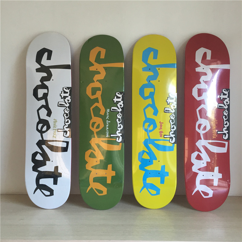 ФОТО CHOCOLATE Graphics Skateboard Boards SK8ERS Name Boards Skates Canadian Maple Skate Board Deck