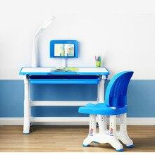 Детская мебель Детский письменный стол и стул набор домашний стол и табуреты Студенческая мебель сочетание Muebles De Madera