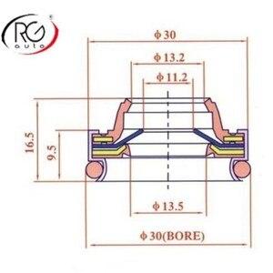 Image 2 - רכב מדחס שפתיים סוג גומי רכוב פיר חותם/עבור DK CA11A, ND10PA15/17/20 OEM חותם R134a, מדחס