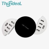 ThundeaL Universal Usb-buchse 5 V 8A Usb-ladegerät 10 Ports Lade Pad Intelligente IC für Samsung Galaxy S6 S7 Rand Google Nexus 4/5