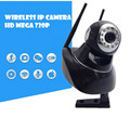 wireless ip camera surveillance video recorder system wifi pt audio sd memory card for home  Onvif cctv 720P HD  Mega P2P Alarm