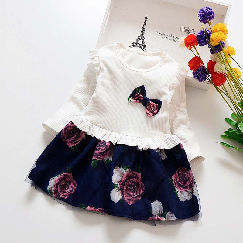 Children Flower Costume Dress