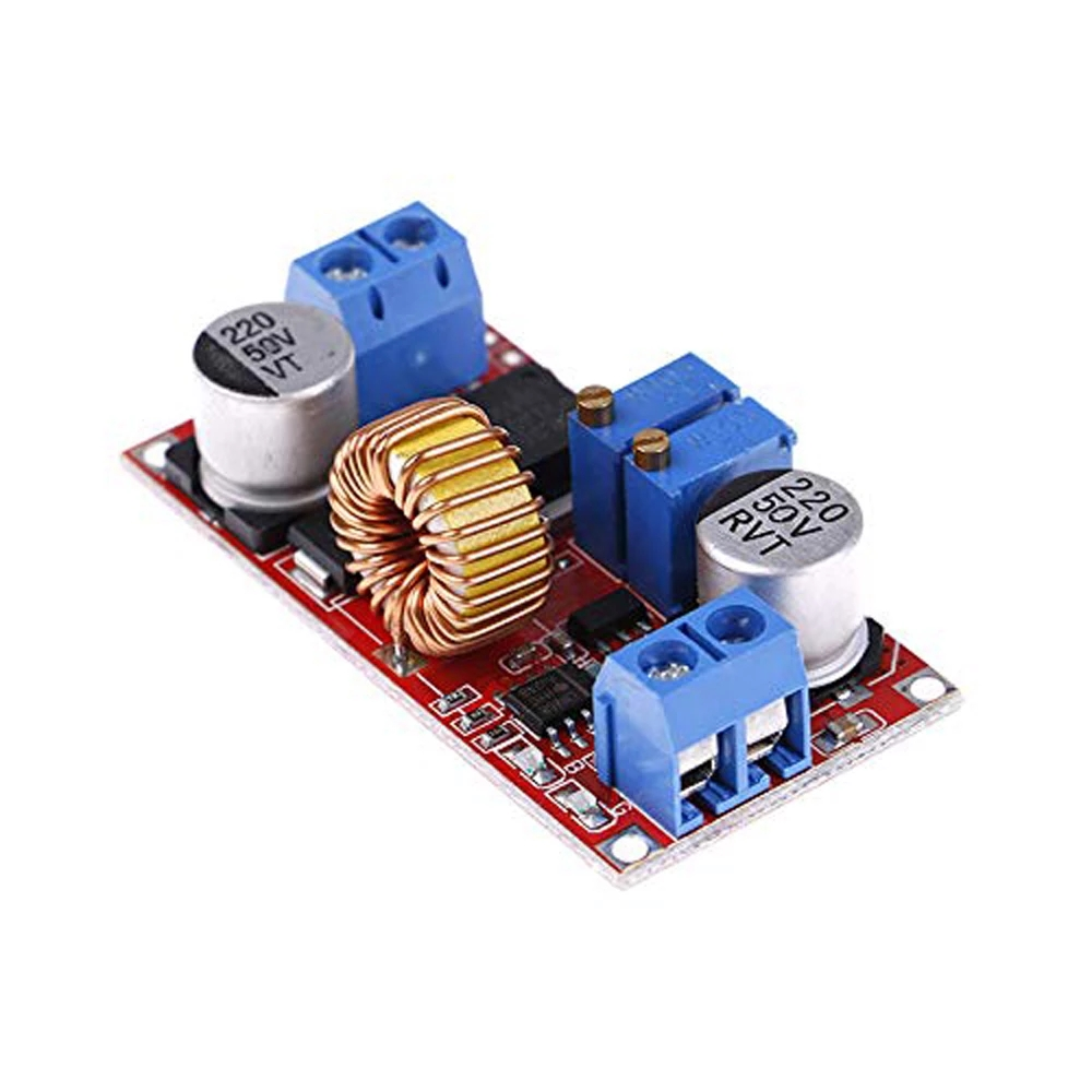 Image 4 - Original XL4015 E1 5A DC to DC CC CV Lithium Battery Step down Charging Board Led Power Converter Lithium Charger Module-in Integrated Circuits from Electronic Components & Supplies
