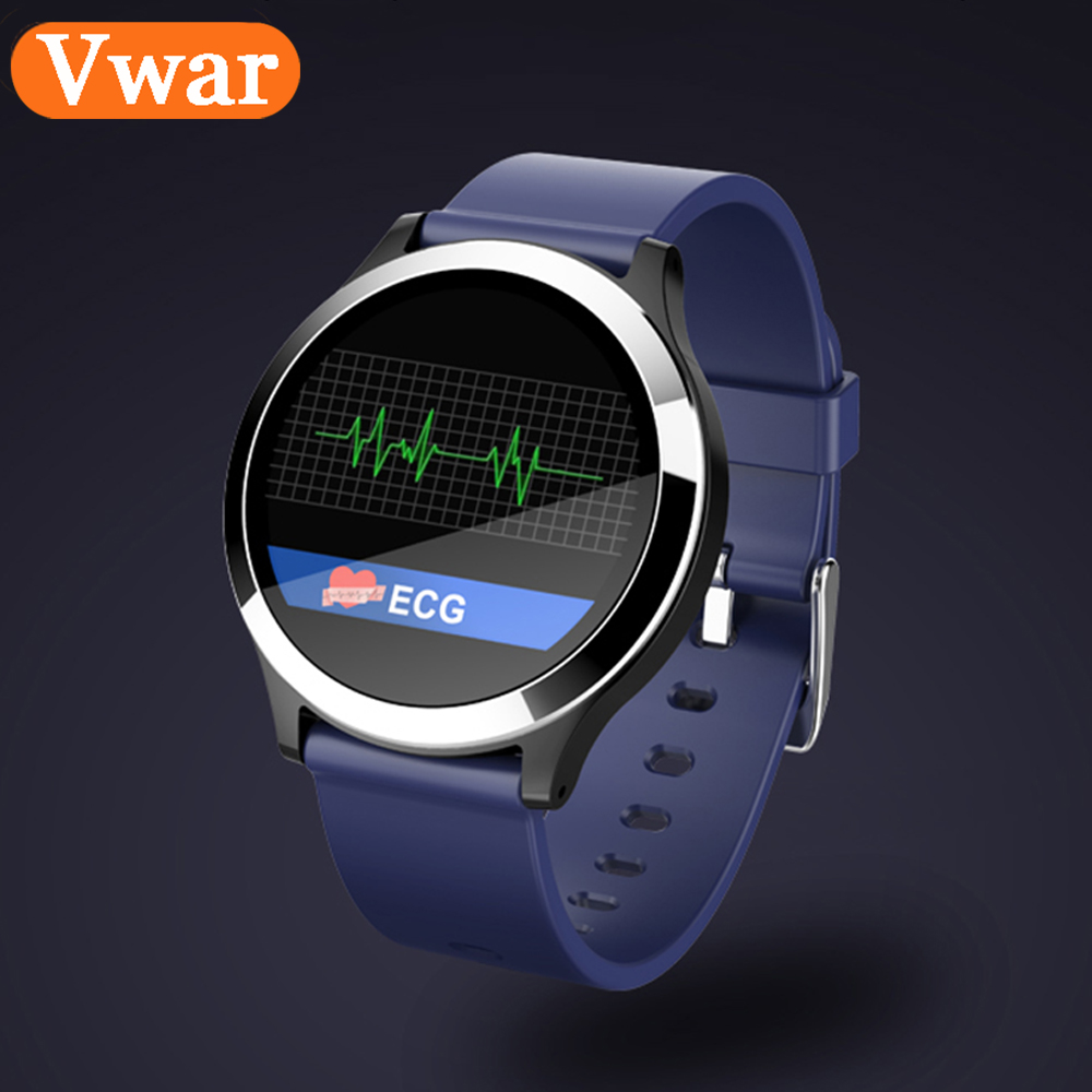 Vwar B65 Sport Smart Watch ECG PPG Band Blood Pressure Heart Rate Monitor Multi Sport Mode